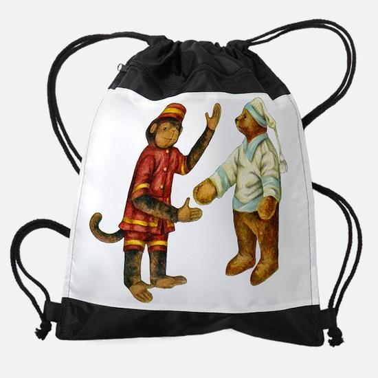 Lettie_Lane__MONKEY___BEARx2.png Drawstring Bag