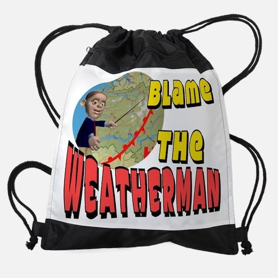 Meteorologist.png Drawstring Bag