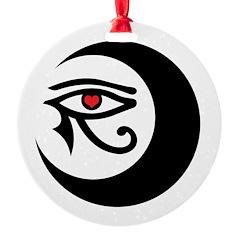 LunaSees Heart Logo Ornament