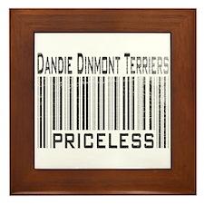 Dandie Dinmont Terriers Framed Tile