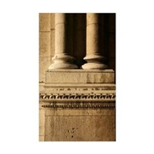 Columns on old building, Paris Decal