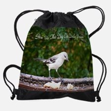 Cute Bread sayings Drawstring Bag
