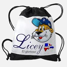 licey tiger mascot.png Drawstring Bag