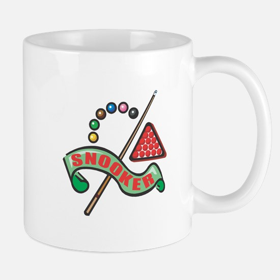 Snooker Pool Design Mug