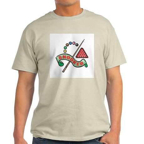 Snooker Pool Design Ash Grey T-Shirt