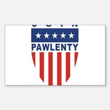 Join Tim Pawlenty Rectangle Decal