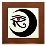 LunaSees Heart Logo Framed Tile