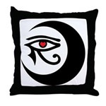 LunaSees Heart Logo Throw Pillow