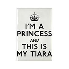 I'm A Princess Rectangle Magnet