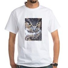 Great Horned Owl - Organic Cotton Tee T-Shirt