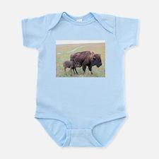 Bison in the Spring Infant Bodysuit