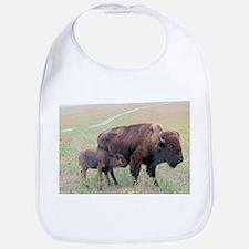 Bison in the Spring Bib