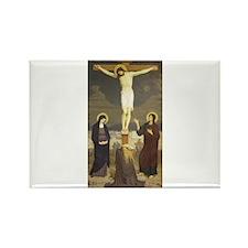 Jesus Rectangle Magnet