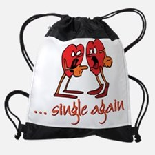Single_Again.png Drawstring Bag