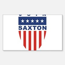 Join Ron Saxton Rectangle Decal