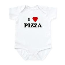I Love PIZZA Onesie