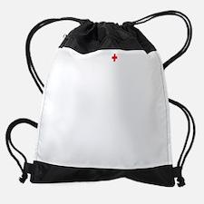 nurses-care - bigDrk.png Drawstring Bag