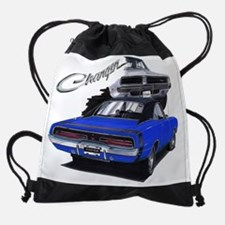 EC83Charger69 blu.psd Drawstring Bag