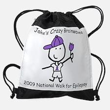 Funny Little lizzy lou Drawstring Bag