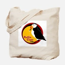 Puffin Cigar Club Tote Bag