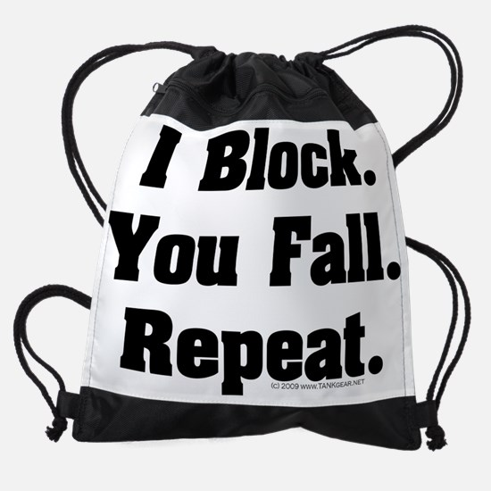 derby_blocker_fall.png Drawstring Bag