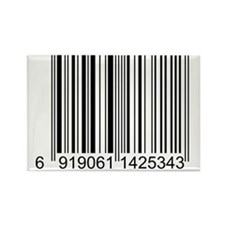 Barcode Rectangle Magnet