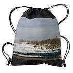 niagara winter cadfalls calendar 23 Drawstring Bag