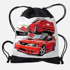 EC119 Saleen2002 red.psd Drawstring Bag