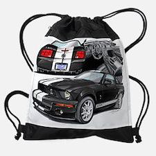 EC143 ShelbyGT500 blkwht.psd Drawstring Bag