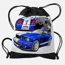 EC143 ShelbyGT500 bluwht.psd Drawstring Bag