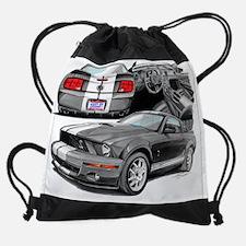EC143 ShelbyGT500 grywht.psd Drawstring Bag