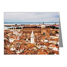 Overview of Venice, Italy Note Cards (Pk of 10)