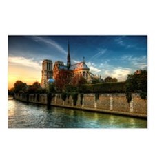 Notre-Dame Cathedral, Sei Postcards (Package of 8)