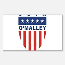 Join Martin O'Malley Rectangle Decal