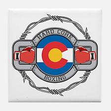 Colorado Boxing Tile Coaster