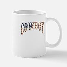 Cowboy, vintage, American Mug