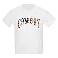 Cowboy, vintage, American Kids T-Shirt