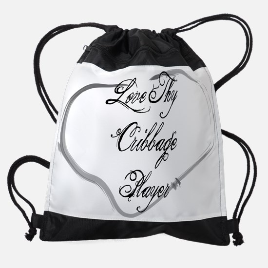 wg106_Cribbage-Player.png Drawstring Bag