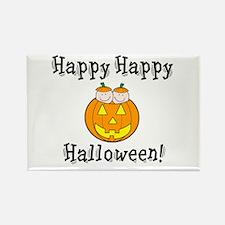 Happy Happy Halloween Rectangle Magnet