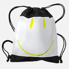 face.black.2.png Drawstring Bag