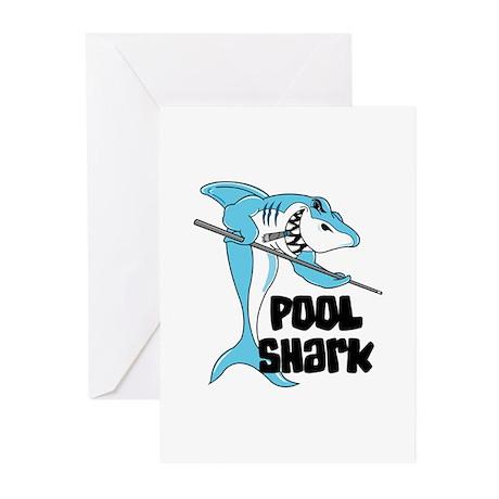 Pool Shark Greeting Cards (Pk of 10)