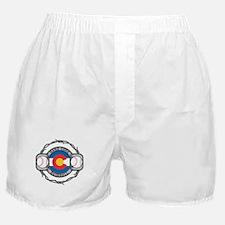 Colorado Baseball Boxer Shorts