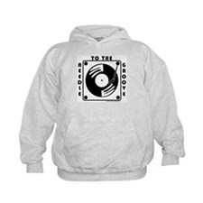 """""""needle to the groove"""" Hoodie"""