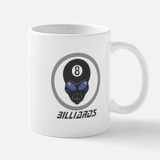 Billiards (Pool) Alien Head Design Small Small Mug