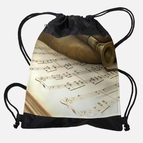 March.png Drawstring Bag