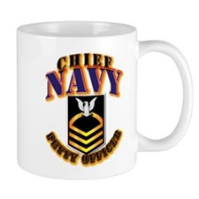 NAVY - CPO - Gold Mug