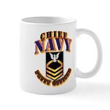 NAVY - CPO - Gold Mug