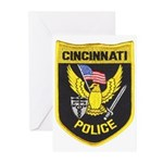 Cincinnati Police Greeting Cards (Pk of 10)