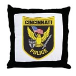 Cincinnati Police Throw Pillow