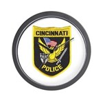 Cincinnati Police Wall Clock